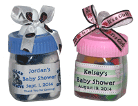 Candy Filled Baby Bottles