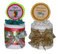 Customized Hand Towel Cakes