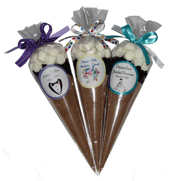 Hot Cocoa Favors