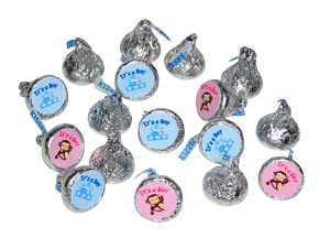 Customized Hershey Kisses