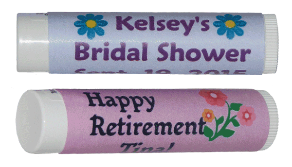 Personalized Lip Balm Favors