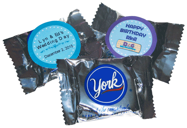 York Peppermint Patty Favors
