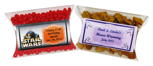 Candy Pillow Box Favors