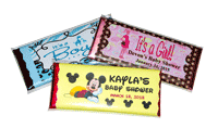 Custom Chocolate Candy Bar Wrappers